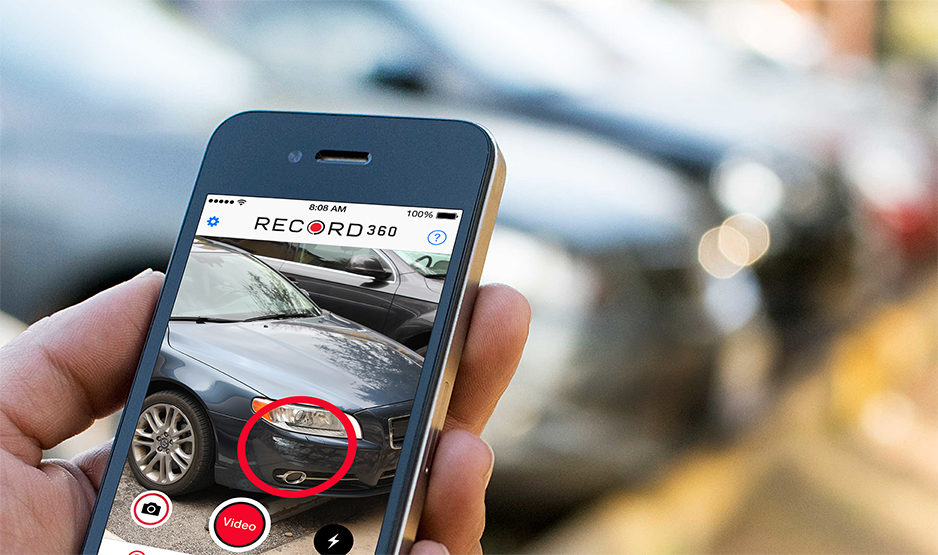 Record360's new app is designed to eliminate vehicle condition disputes