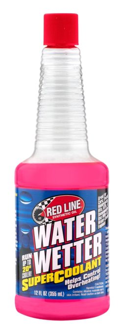 Red Line Coolant Also Helps Protect Against Corrosion