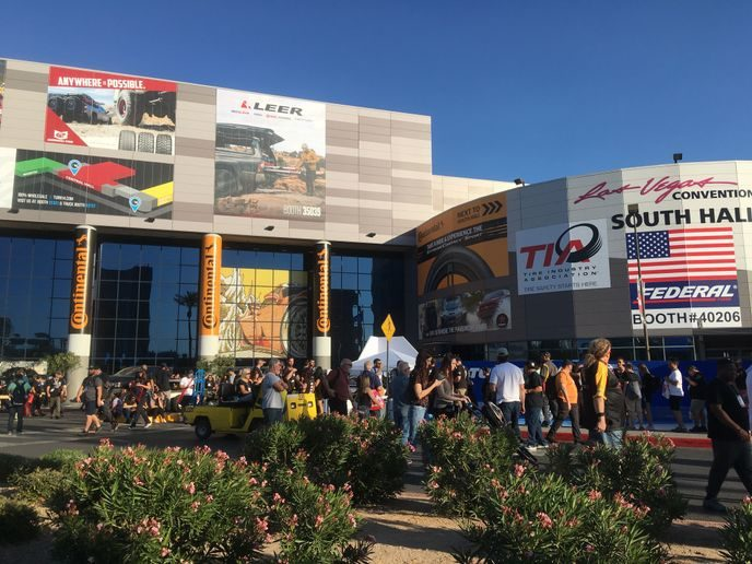 Registration for 2020 SEMA Show Is Open