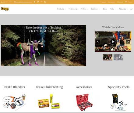 Revised Phoenix Systems website includes interactive videos of brake system products