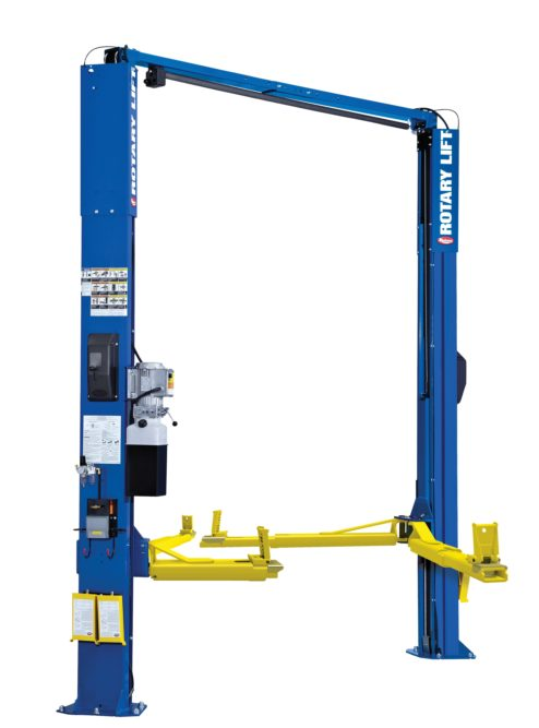 Rotary Lift adds patented Trio Arms to its two-post lift