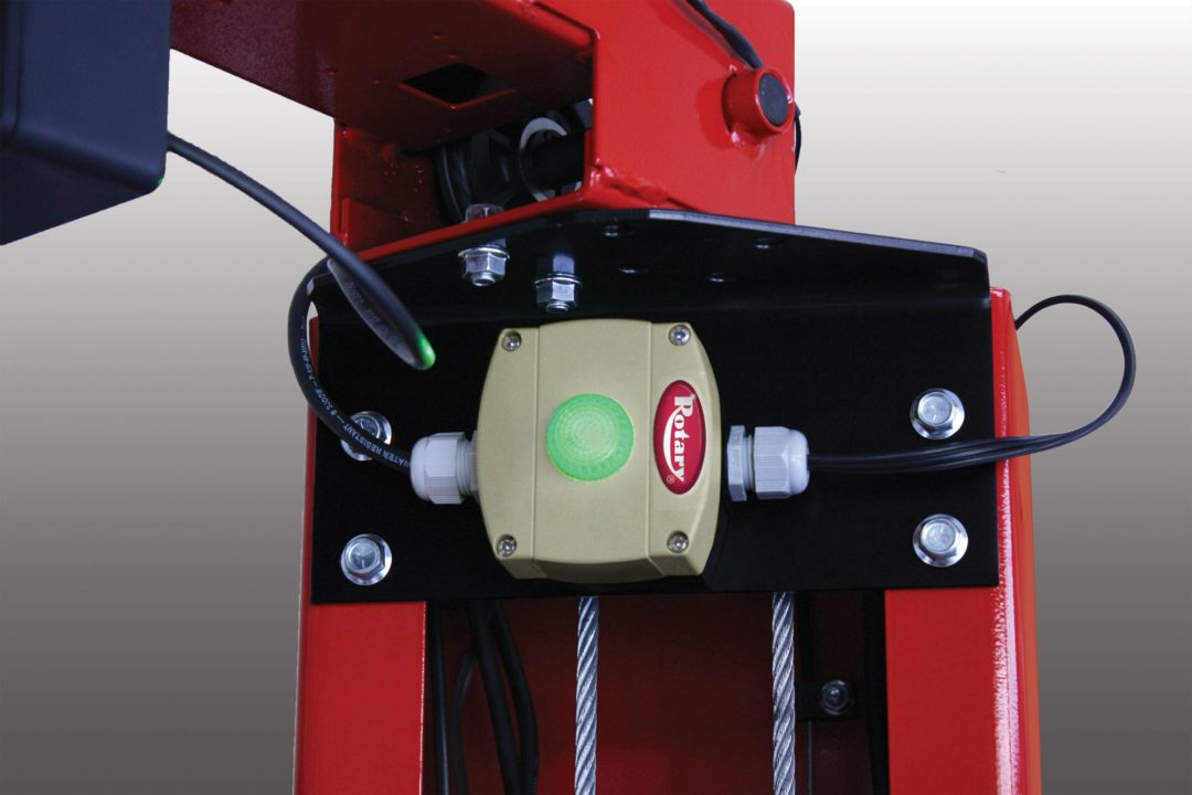 Rotary Lift LockLight car lift accessory provides peace of mind