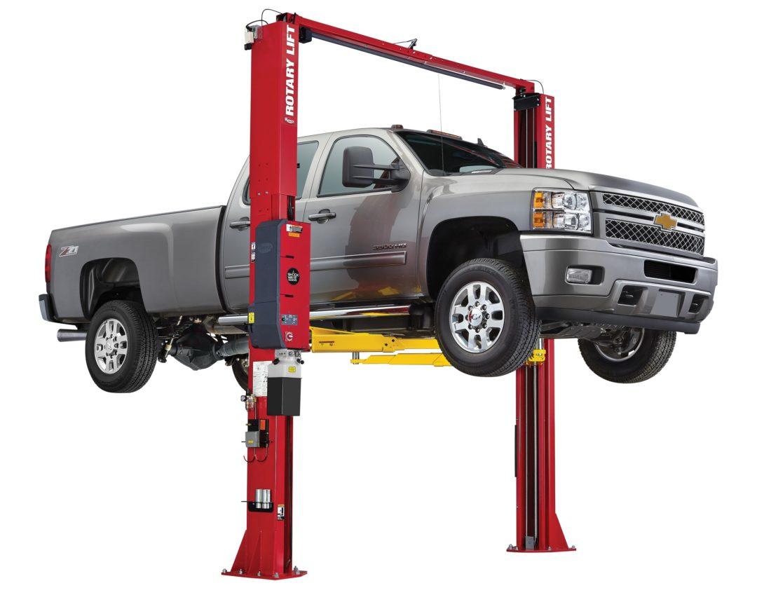 Rotary Lift's Shockwave technology expands to truck and van repairs