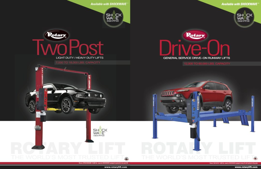 Rotary Lift's two new brochures make it easier to compare makes and models