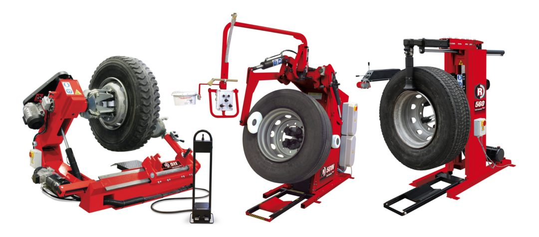 Rotary Offers HD Tire Changers for the Shop or on the Road