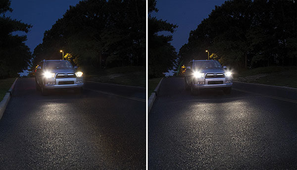 Safety Dictates Changing Headlamps in Pairs