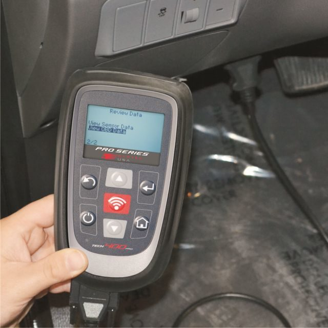 See how Bartec's new TPMS scan tool works at NACE/CARS show