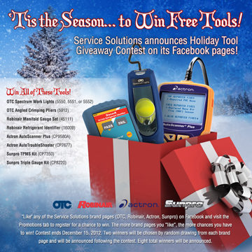 Service Solutions LLC conducts holiday tool giveaway