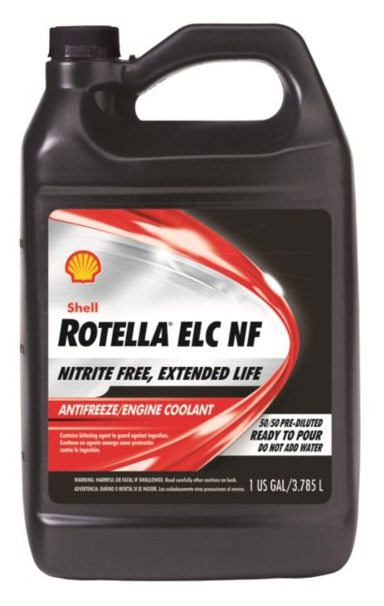 Shell Lubricants expands Rotella coolant portfolio for commercial applications