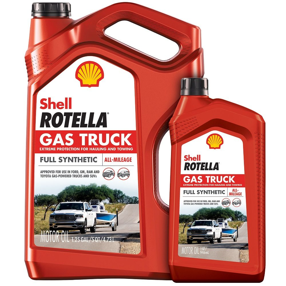 Shell Rotella Adds Engine Oil for Gas-Powered Trucks and SUVs