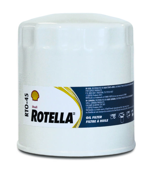 Shell Rotella Oil Filters Promote Long Oil Life