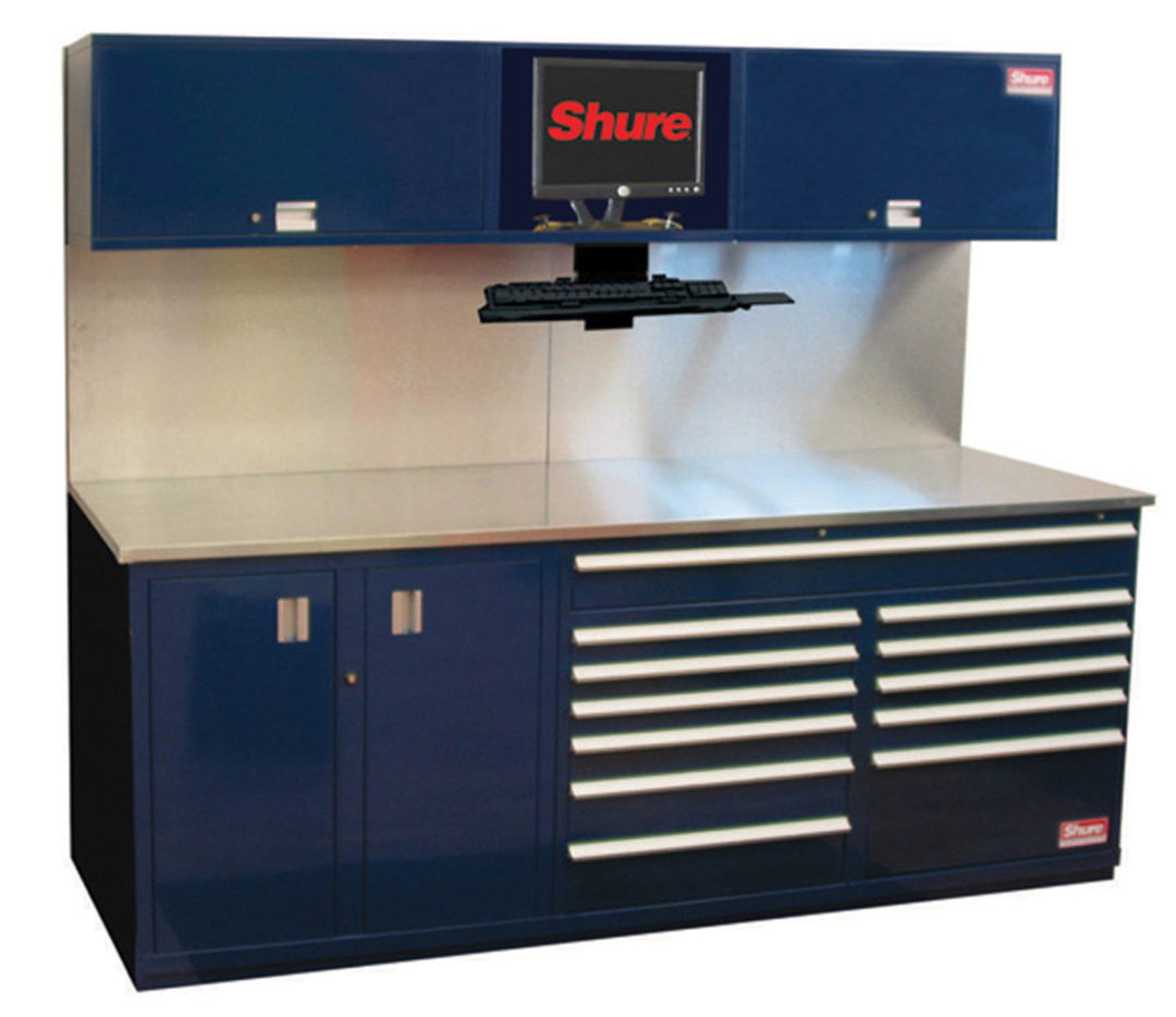 Shure debuts workbench systems