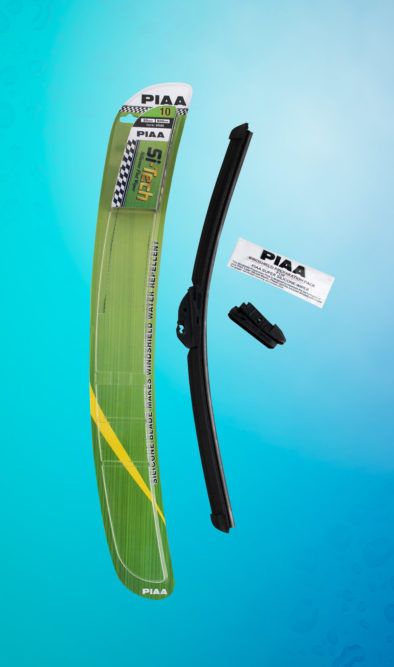 Si-Tech Flat Silicone wiper blades for all-season use
