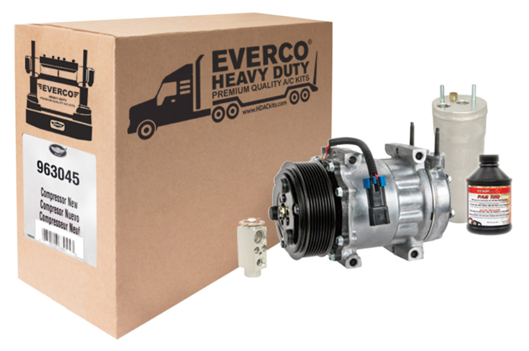 SMP Introduces Everco Heavy Duty A/C Repair Kits