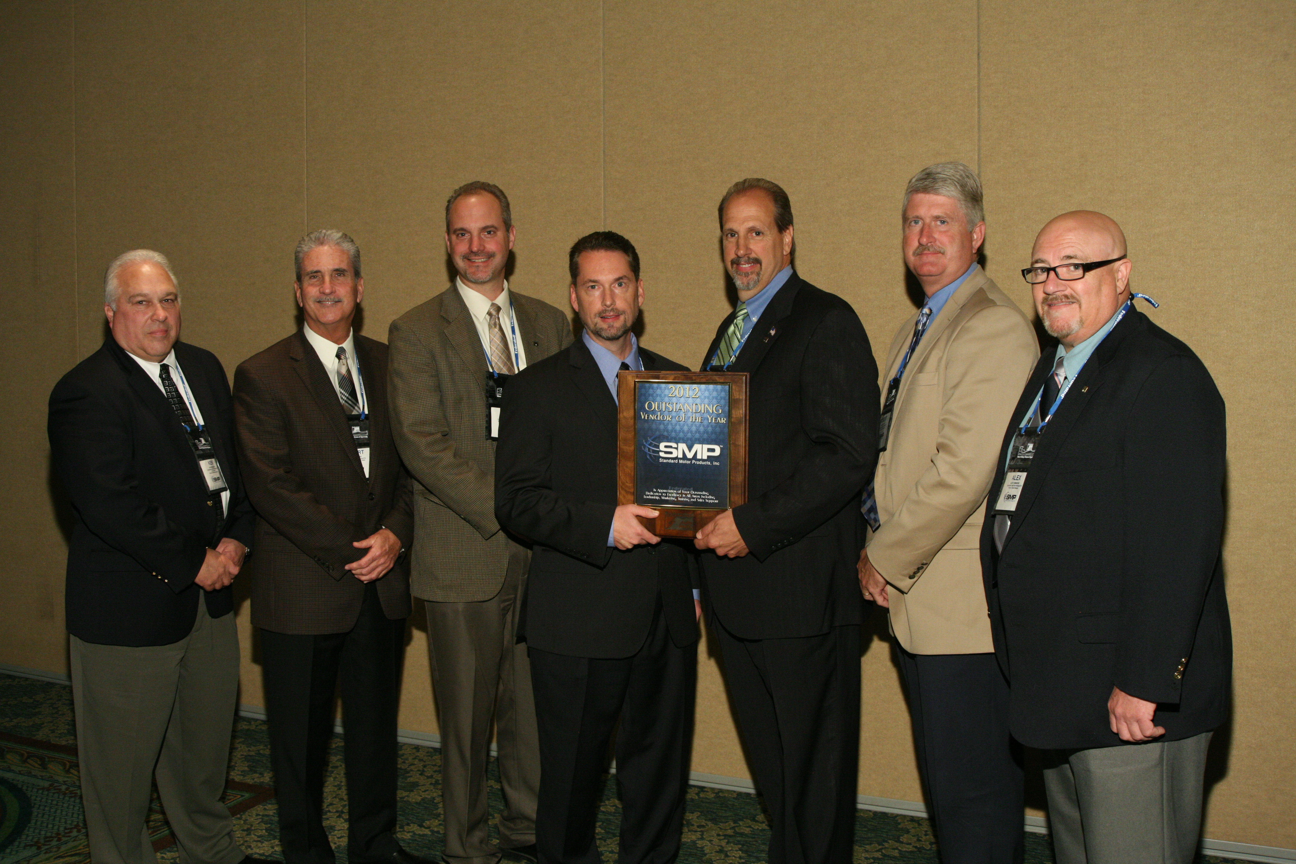 SMP named Federated Outstanding Vendor of the Year