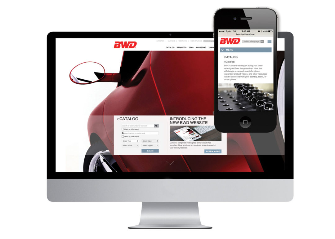 SMP Redesigns BWD Brand Website