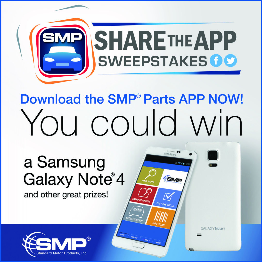SMP unveils 'Share the App' sweepstakes