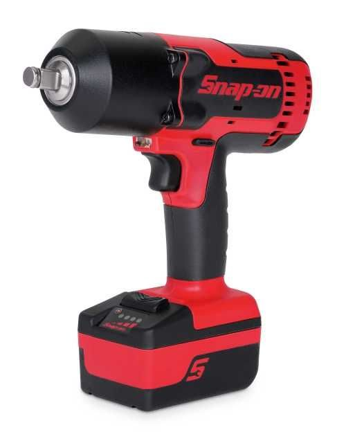 Snap-on cordless wrench packs power, long run time