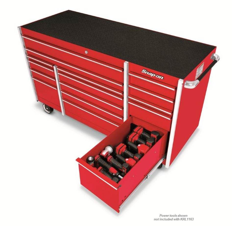 Snap-on debuts Master Series Roll Cab