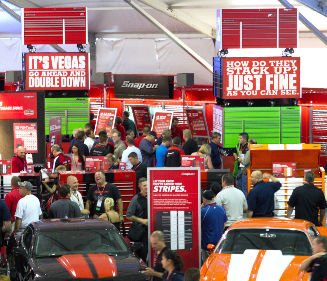 Snap-on franchisees get personal, break record at conference
