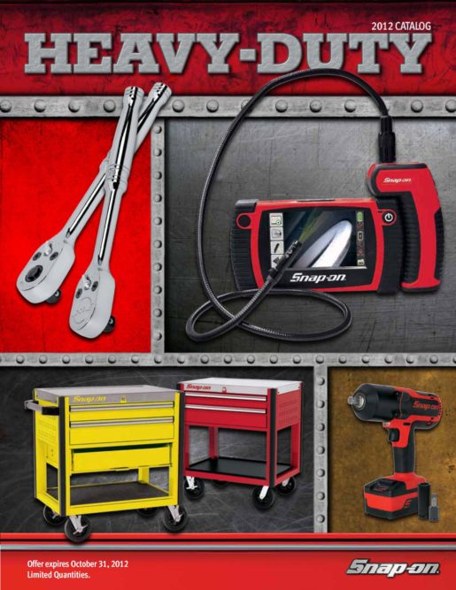 Snap-on HD catalog offers wide assortment