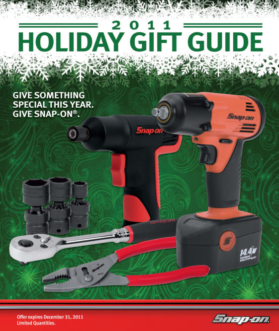 Snap-on releases 2011 Holiday Guide