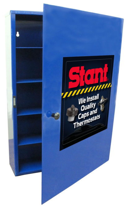 Stant Offers Cap and Thermostat Cabinet