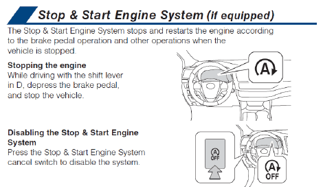 Stop & Start Needs Special Battery