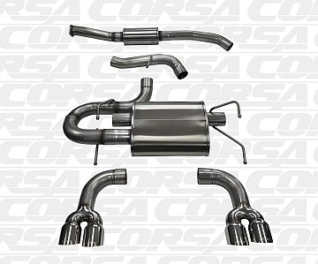 Subaru cat-back exhaust systems from CORSA Performance Exhausts