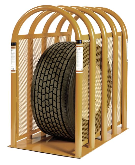 Super Magnum tire cage reduces side force by 93%