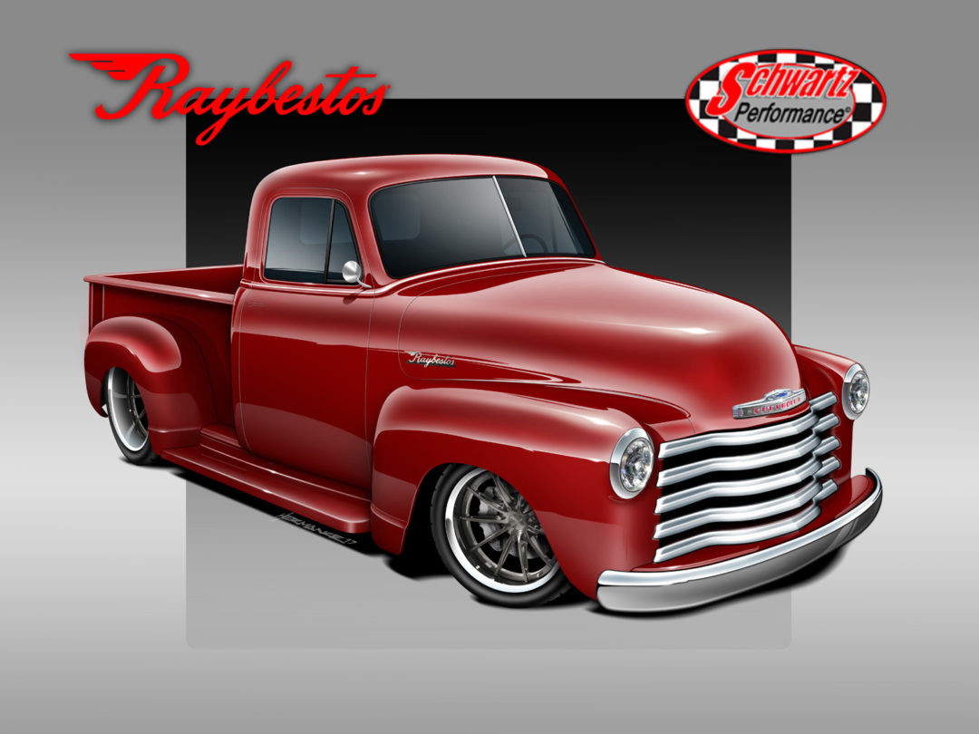 Supplier List Grows for Raybestos '53 Chevy Pickup Restoration