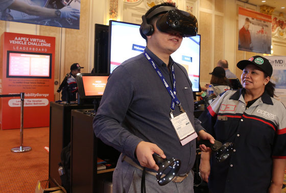 Take the Virtual Vehicle Challenge at AAPEX 2019