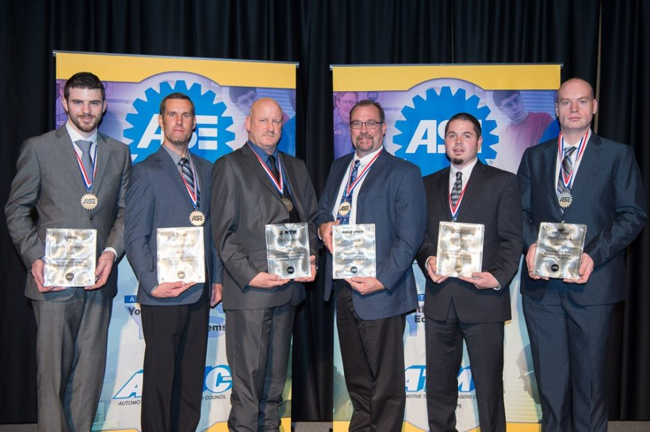 Technicians at TBC Earn ASE's Top Honor