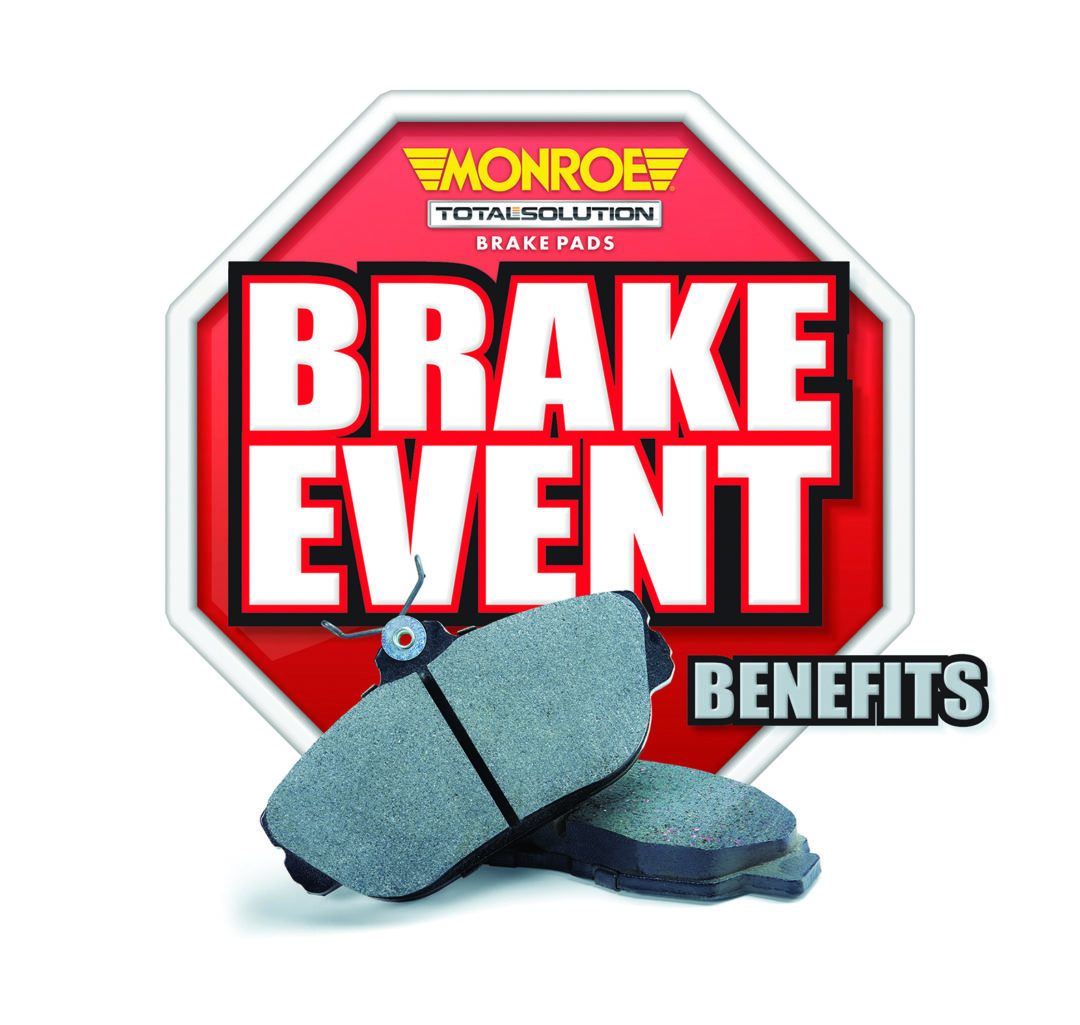 Techs can earn a $500 card in Monroe 'Brake Event BENEFITS' promotion