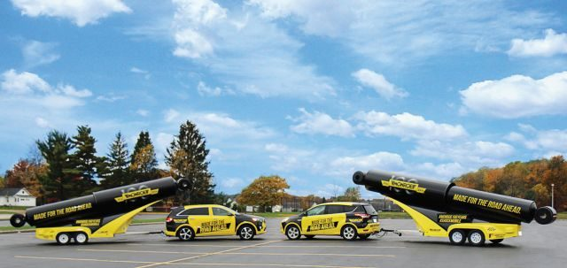 Tenneco Adds Second 'Shockmobile' To Its Monroe Brand Campaign