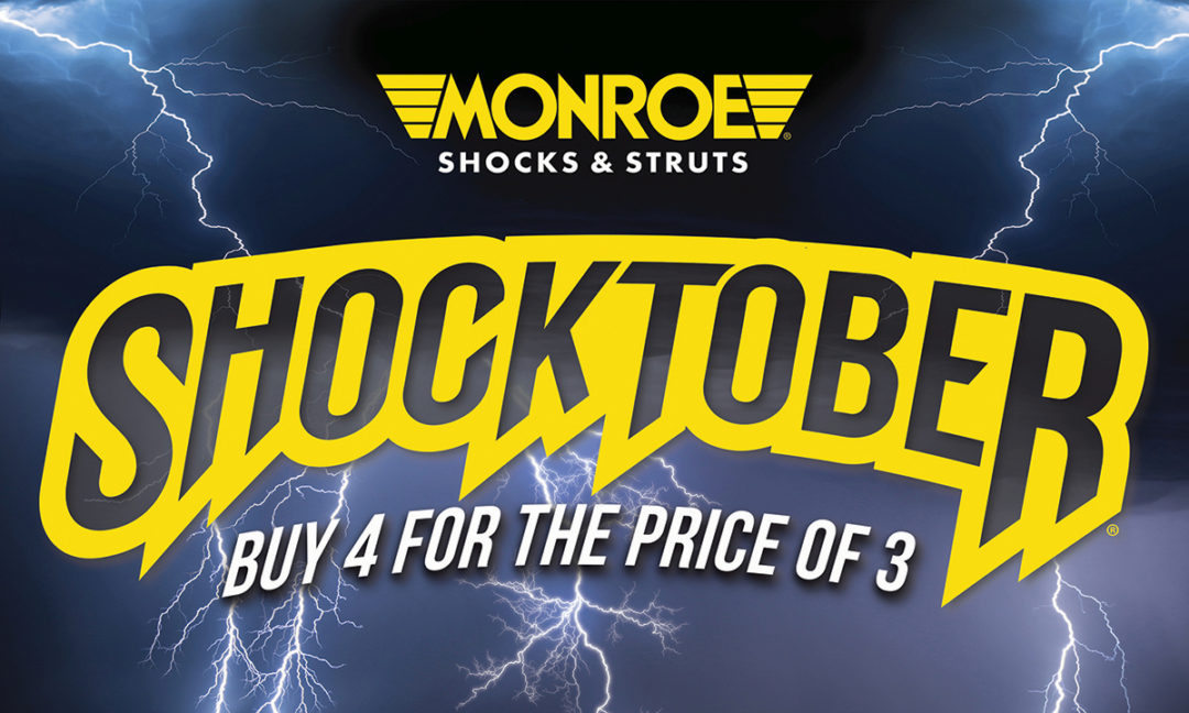 Tenneco Begins 'Shocktober' Promotion for Monroe Products