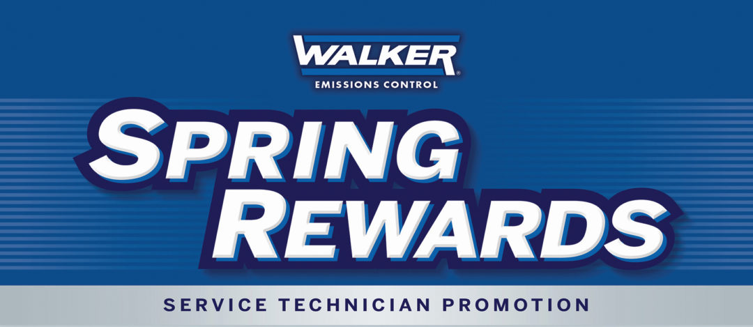 Tenneco's Walker 'Spring Rewards' Gives Prepaid Cards to Service Techs