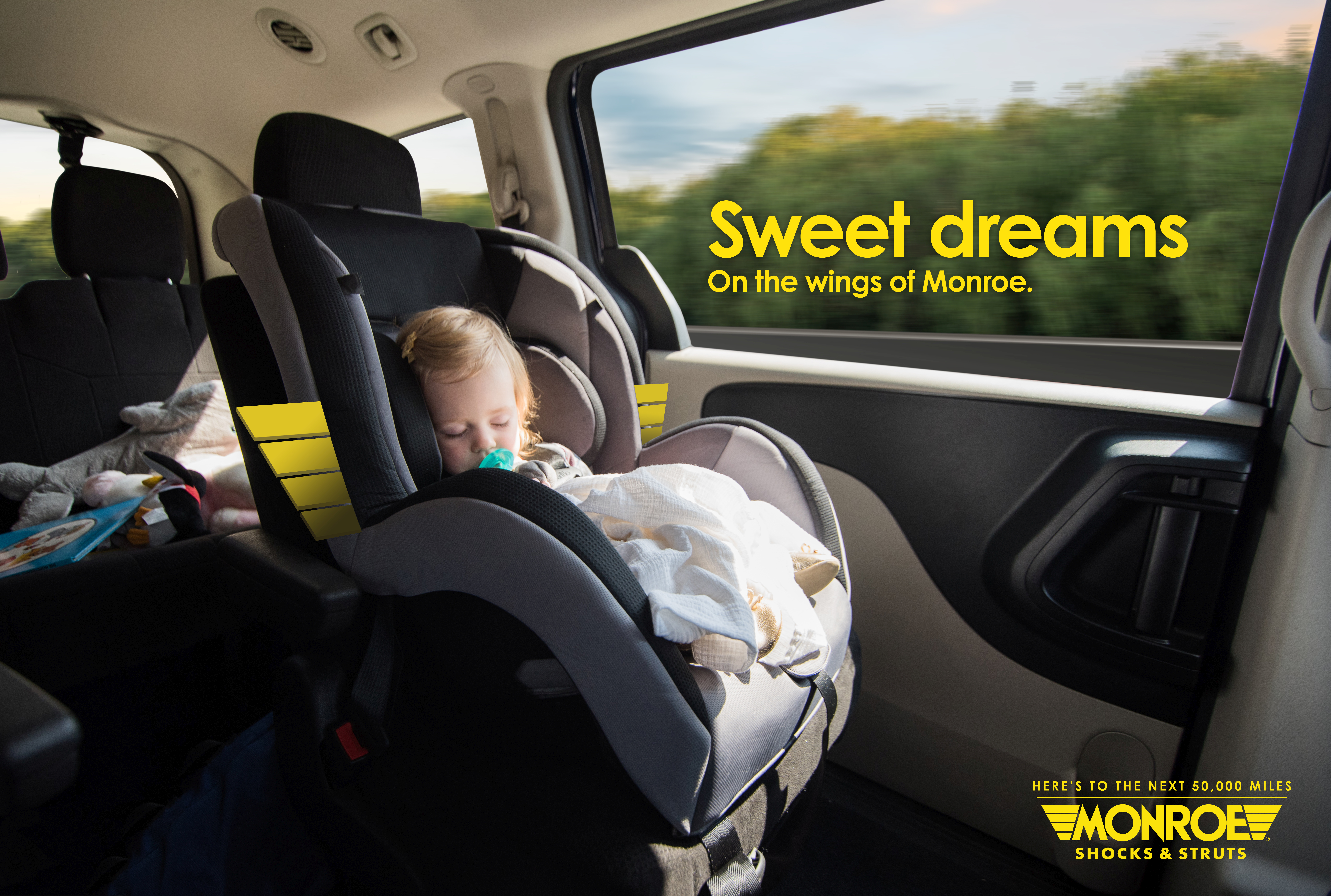 Tenneco Says Ride on the 'Wings of Monroe' in New Campaign