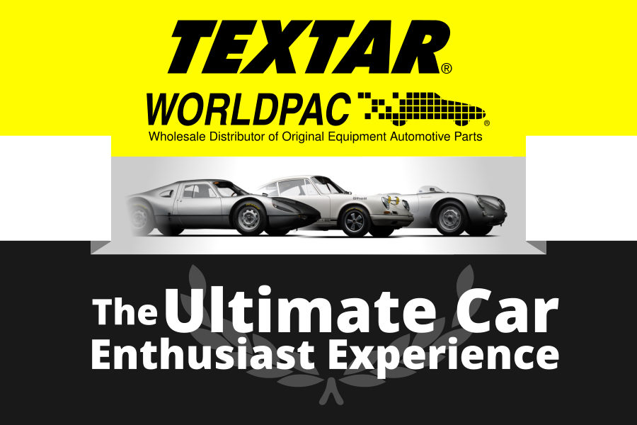 Textar and Worldpac make Porsche lovers' dreams come true