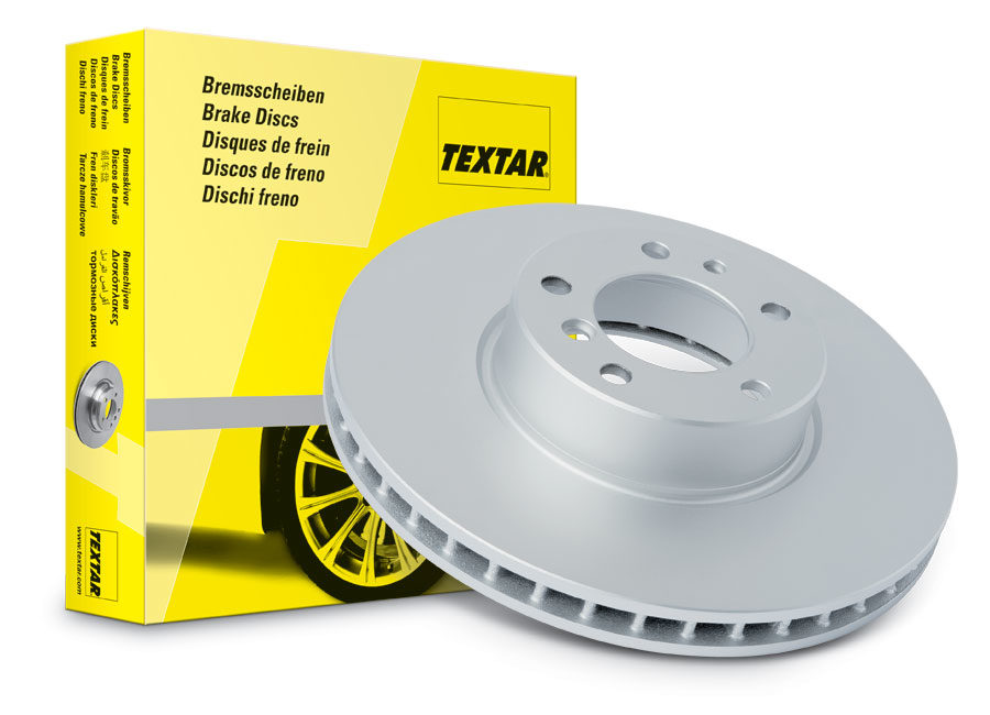 Textar brake rotors available exclusively at WORLDPAC