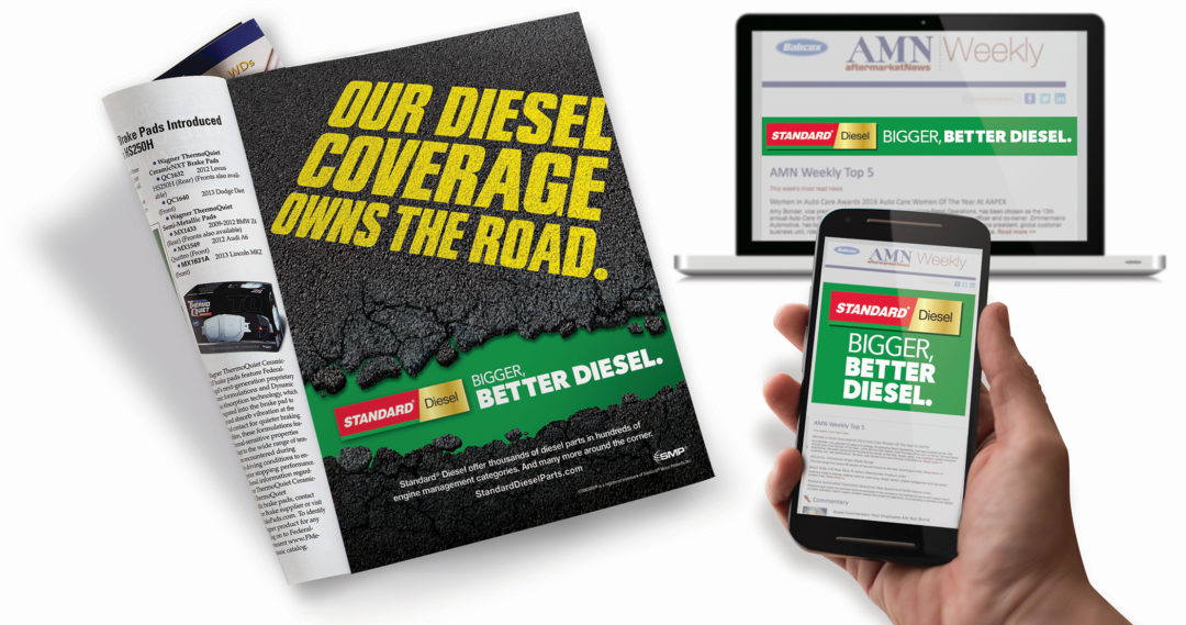 TFI Envision Creates Two Standard Diesel Ad Campaigns