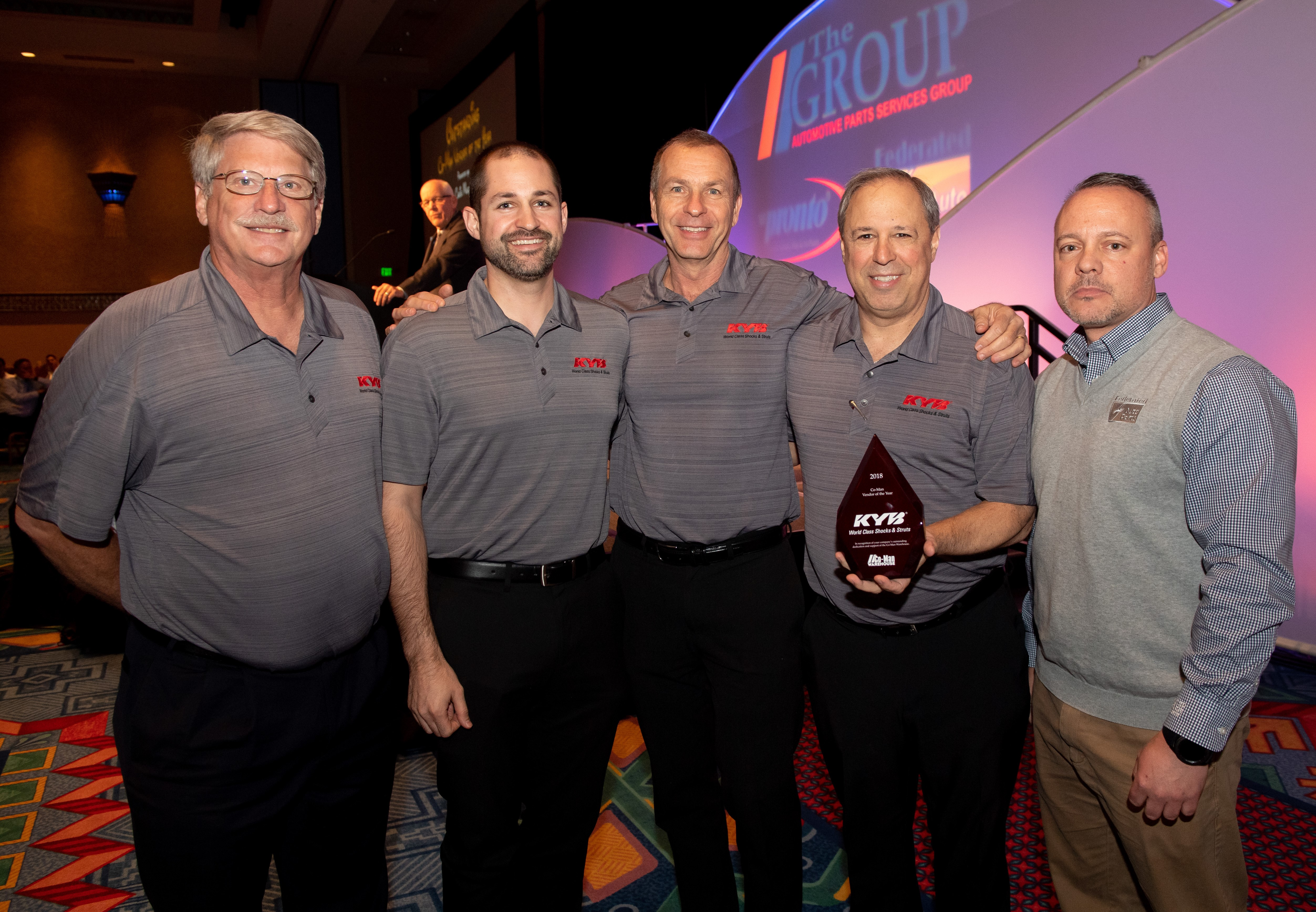 The Group Honors KYB, Autolite with Vendor Awards