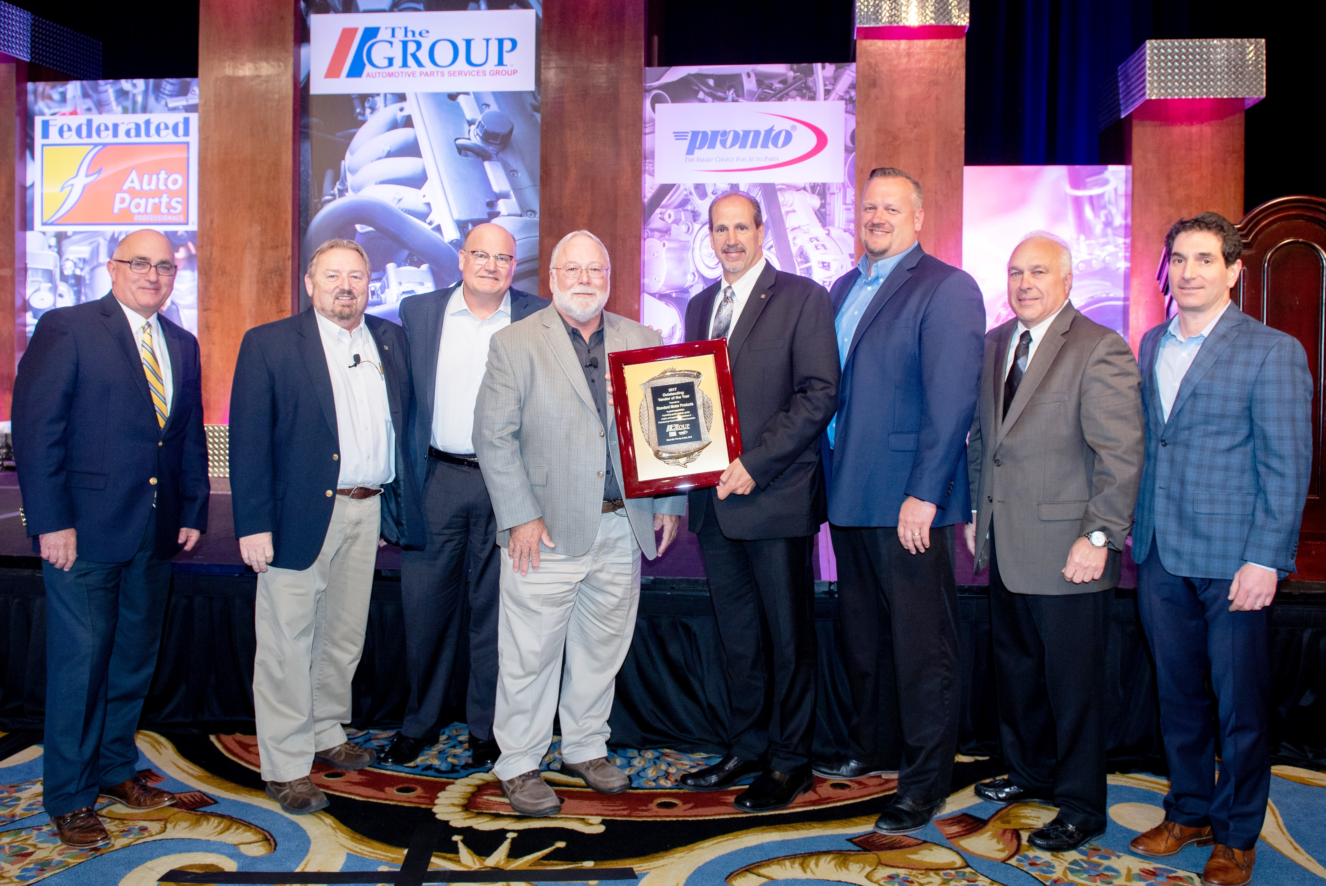 'The Group' Honors Top Supplier Partners