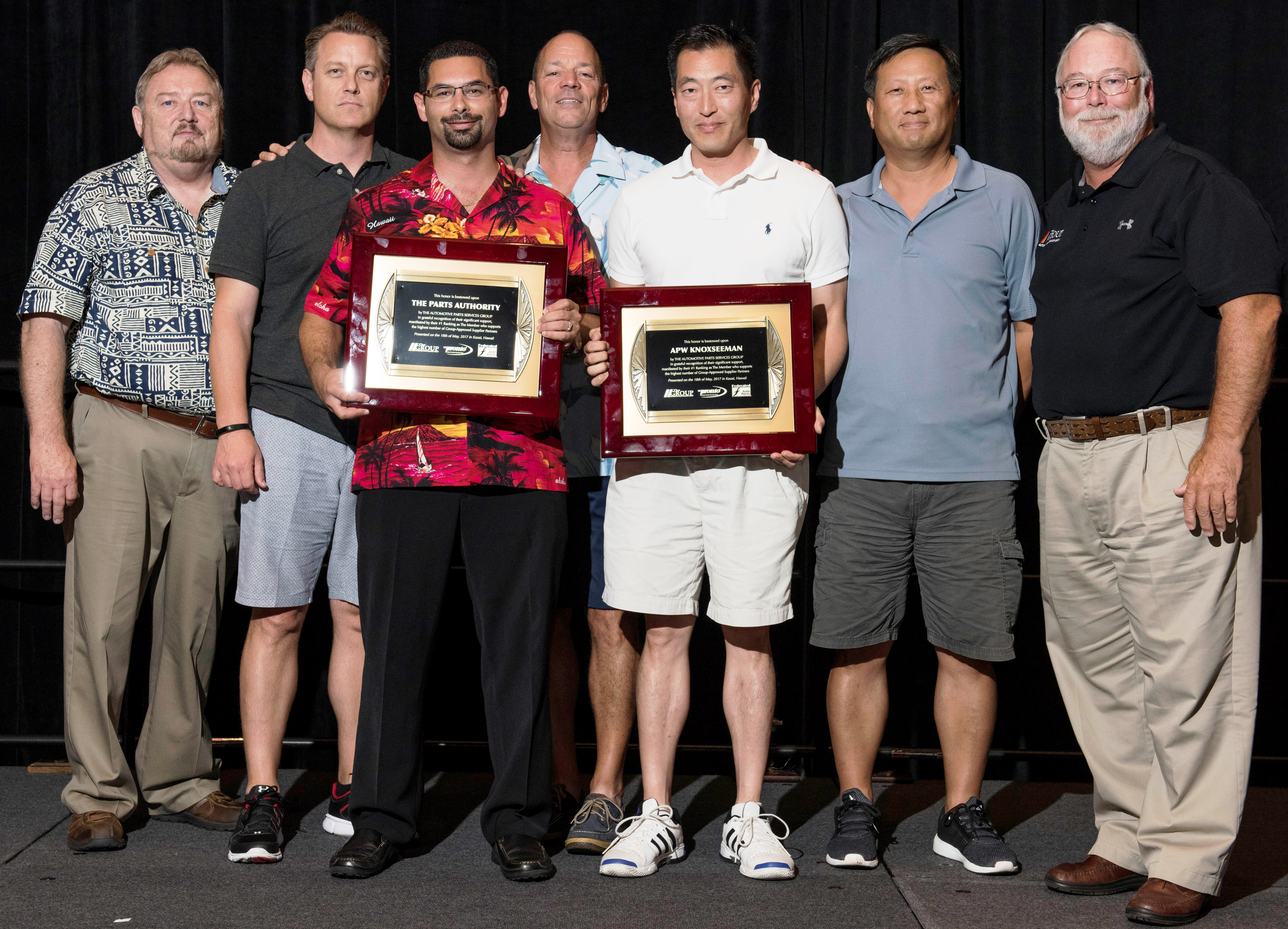 The Group Recognizes Two Members for Top Vendor Support