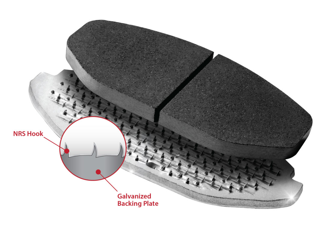 The Importance of Mechanical Retention for Brake Pads