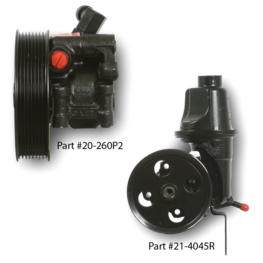 Time-saving Power Steering Pumps with pulleys
