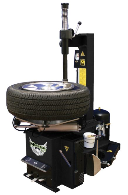 Tire Changer is Part of New Line of Monster Brand Shop Equipment