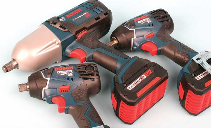 Tool Review: Bosch cordless impact wrenches
