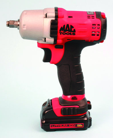 Tool Review: Mac Tools cordless 3/8-inch wrench