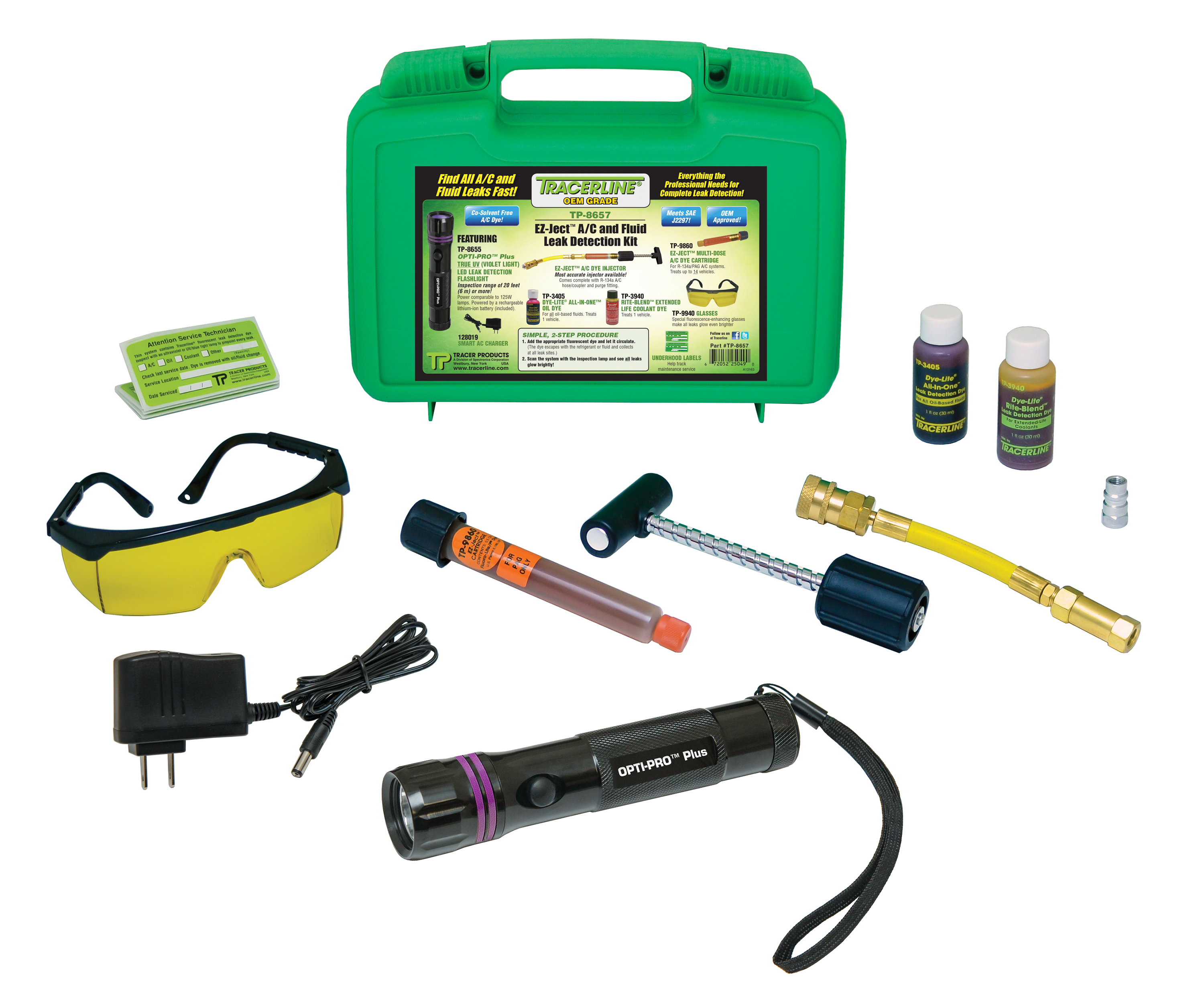 Tracer Articles offers EZ-Ject A/C dye kit